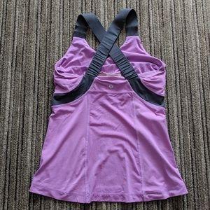 Lululemon Push Ur Limits in Purple and Gray sz 8